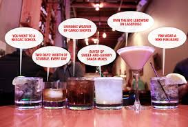 what your drink says about your personality what your drink says about you cocktail drinkers personality
