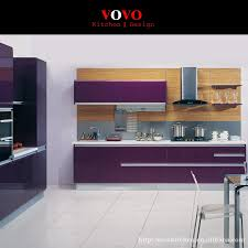 what color are modern kitchen cabinets modern kitchen cabinets in purple color no need handle