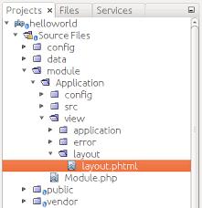 zf2 twig layout page layout in zend framework 3 using zend framework 3