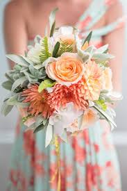 Color Combination Finder Wedding Colors Aqua Peach The Perfect Palette