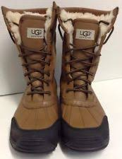 ugg s adirondack ii leather apres ski boots ugg australia leather lace up boots for ebay