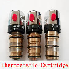 online get cheap thermostatic cartridge aliexpress com alibaba bathroom shower faucet thread top wire thermostatic cartridge brass thermostatic valve mixer for solar