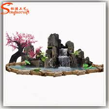 Decorative Water Fountains For Home by Indoor Waterfall Fountain Rustic Vase Indoor Water Fountain