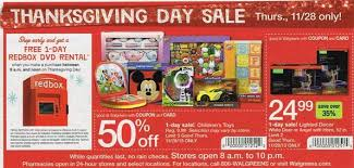 walgreens thanksgiving day black friday ad 2013 free tastes