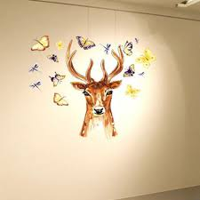 popular kids removable wall stickers buy cheap kids removable wall 2017 new fashion diy animal avatar removable wall decal family home sticker mural art home decor