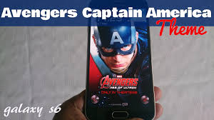 wallpaper captain america samsung samsung galaxy s6 s6 edge avengers captain america theme youtube