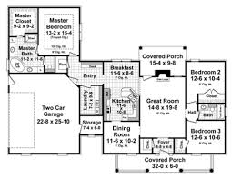 southern style house plan 3 beds 2 00 baths 1804 sq ft plan 21 333