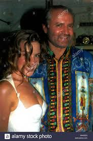 versace designer minogue the singer and with designer gianni versace