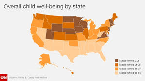 the best and worst states to raise children in cnn