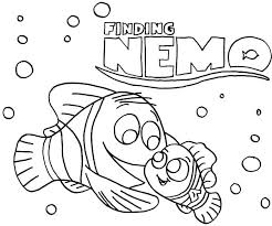 Finding Nemo Coloring Pages Online Printable Thaypiniphone Nemo Color Pages