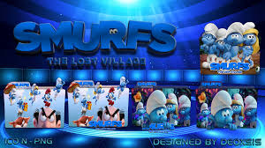 smurfs the lost village wallpapers smurfs the lost village 2017 folder icon pack by deoxsis on