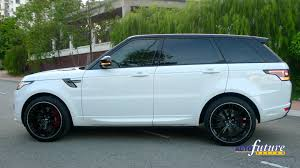 range rover sport rims aspired aesthetics range rover sport equipped with aspire wheels