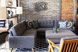 Macys Sleeper Sofa Alaina by Fillmore Sectional Sofa In Key Largo Grey Thrive U0027s Los Angeles
