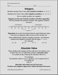 addition addition integers worksheets free math worksheets for