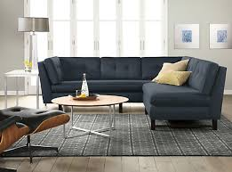 subdued living room roomandboard and board sectional sofa hampedia
