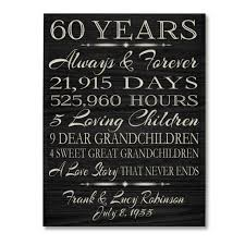 60 year anniversary party ideas 60 year wedding anniversary gift gift ideas bethmaru
