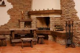Ideas To Use Modern Stone Tiles And Enrich Your Home Decorating - Living room wall tiles design