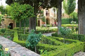 the gardens of the alhambra and generalife granada spain u2013 part