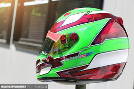 motocross helmet wraps the high art world of custom helmet design speedhunters