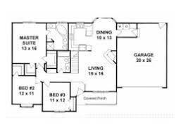 Spacious 3 Bedroom House Plans House Plans From 1400 To 1500 Square Feet Page 1
