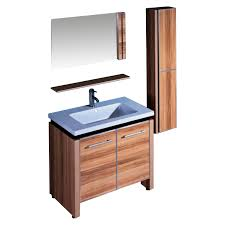bathroom furniture classic brown high gloss finish wooden excerpt