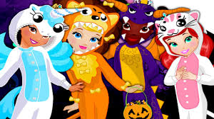 animal crew halloween dress up game free kids dress up game