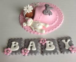 baby cake toppers baby girl fondant baby shower cake with elephants search