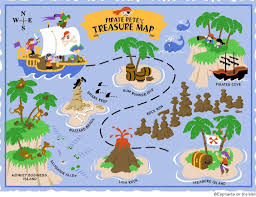 pirate map clip art on clipart elephants the wall d i y