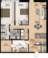 2 bedroom condo floor plans 2 bedroom den condo layout the hillcrest condos