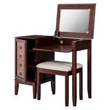 Vanity Set Furniture Side Storage Vanity Set Espresso Linon Target