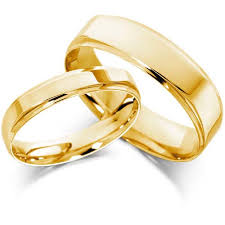 golden couple rings images Wedding gold rings jpg