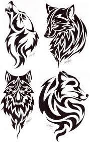 love the last one my celtic sign tribal wolf tattoos tattoos