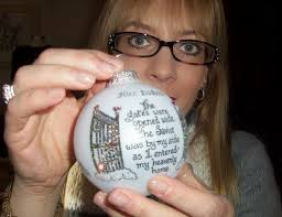 my personalized memorial ornament remembering baby