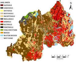 Rwanda World Map by Soil Map Of Rwanda