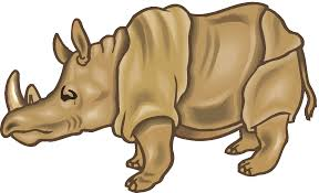 kids cute rhino clipart cliparts and others art inspiration