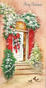 86 best christmas cards images on pinterest vintage christmas