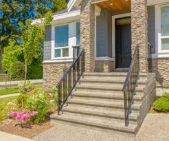 Handrails For Outdoor Steps Handrail Installation Leesburg Deck Stair U0026 Porch Railings