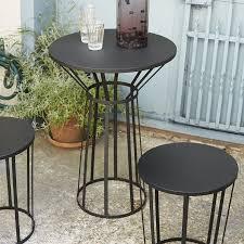 mobilier de bistrot hollo table de bistrot ø50cm petite friture tables bistro de