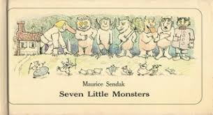 seven little monsters by maurice sendak