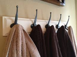 unique towel hooks for bathrooms advice for your home decoration