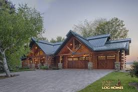 golden eagle log and timber homes log home cabin pictures garage