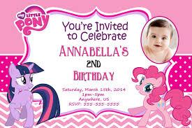 pink birthday invitations free printable my little pony birthday invitations drevio