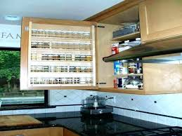 pull out racks for kitchen cabinets in cabinet spice rack slide medium size of home out spice racks for