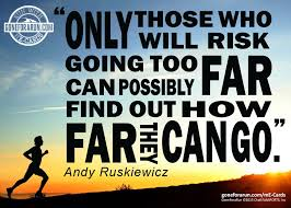 motivational quote running the only ones who will risk me card running inspiration