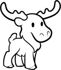 cute moose coloring download u0026 print coloring pages
