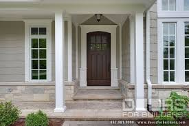 classic collection french solid wood front entry door clear