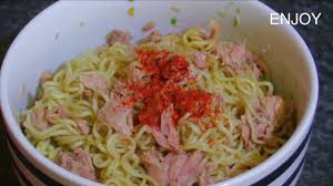 instant cuisine how to instant noodles with tuna ส ตรและว ธ ทำบะหม ก ง
