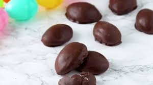chocolate covered eggs chocolate covered marshmallow eggs