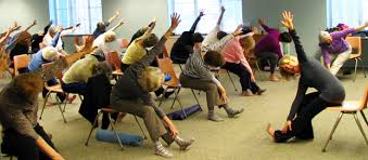 Chair Yoga Class Sequence Chair Yoga Endearing Printable Chair Yoga Routines Chair Yoga For