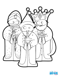 nativity color christmas nativity kings coloring pages